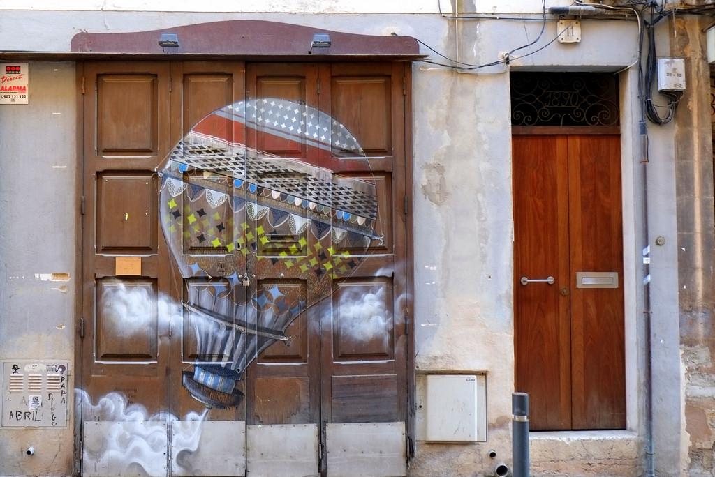 street art und graffiti in palma de mallorca