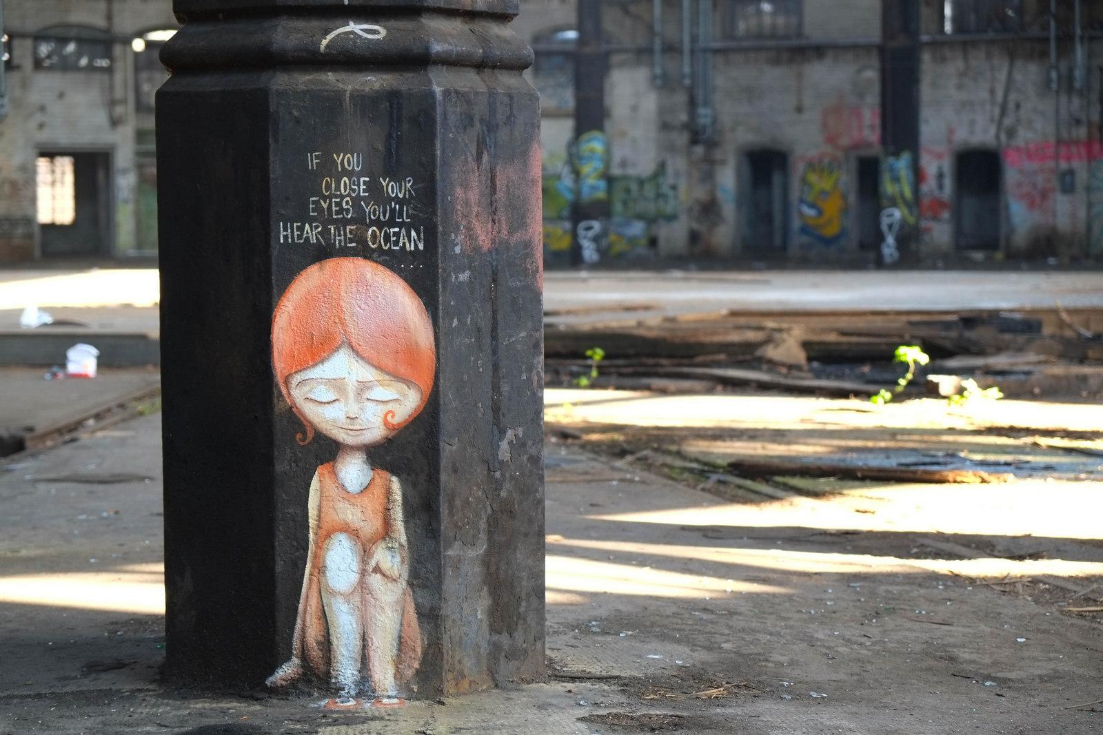 street painting, caro pepe