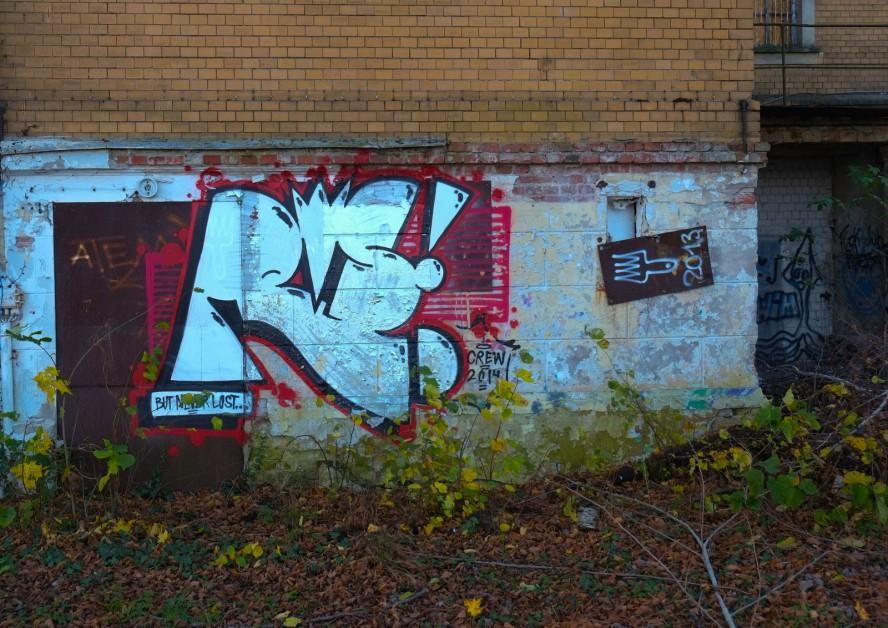 ballhaus grünau - graffiti