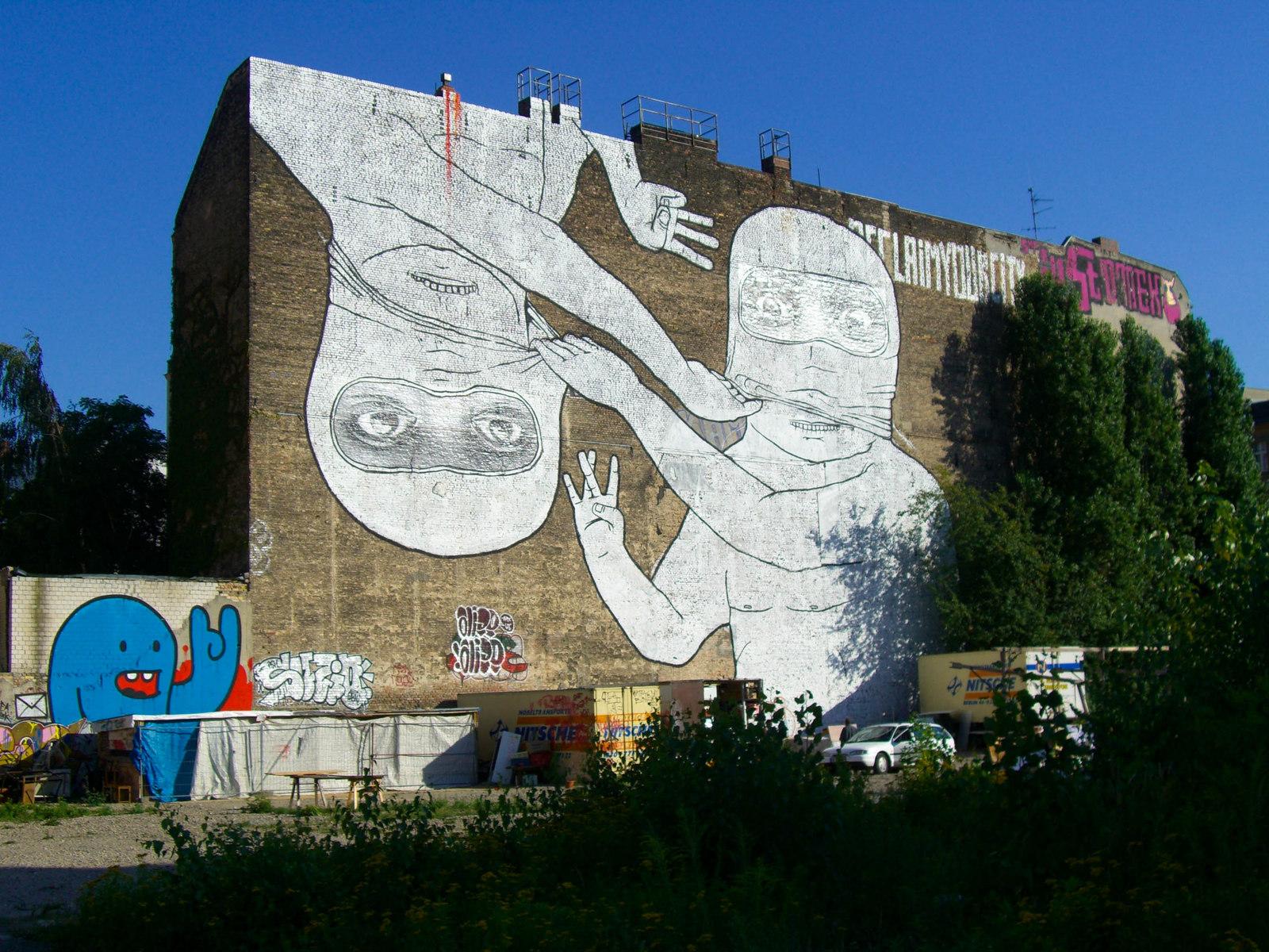 blu murals mit der zeit in berlin (2007 bis 2014)