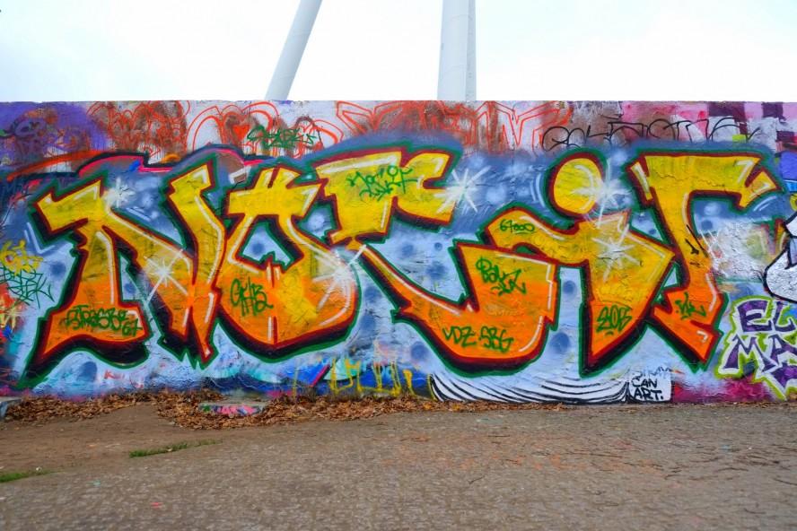 graffiti - mauerpark