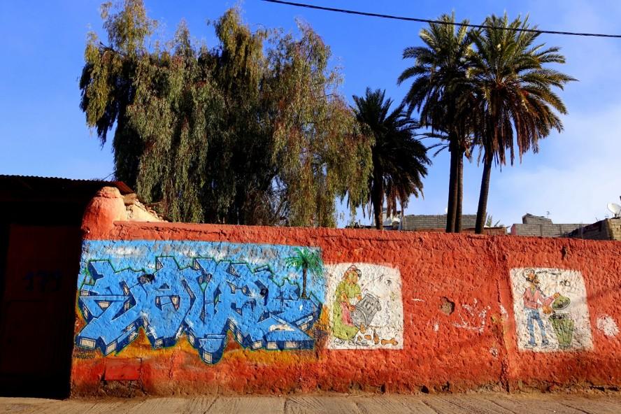 graffiti - medina - rue kbour chou