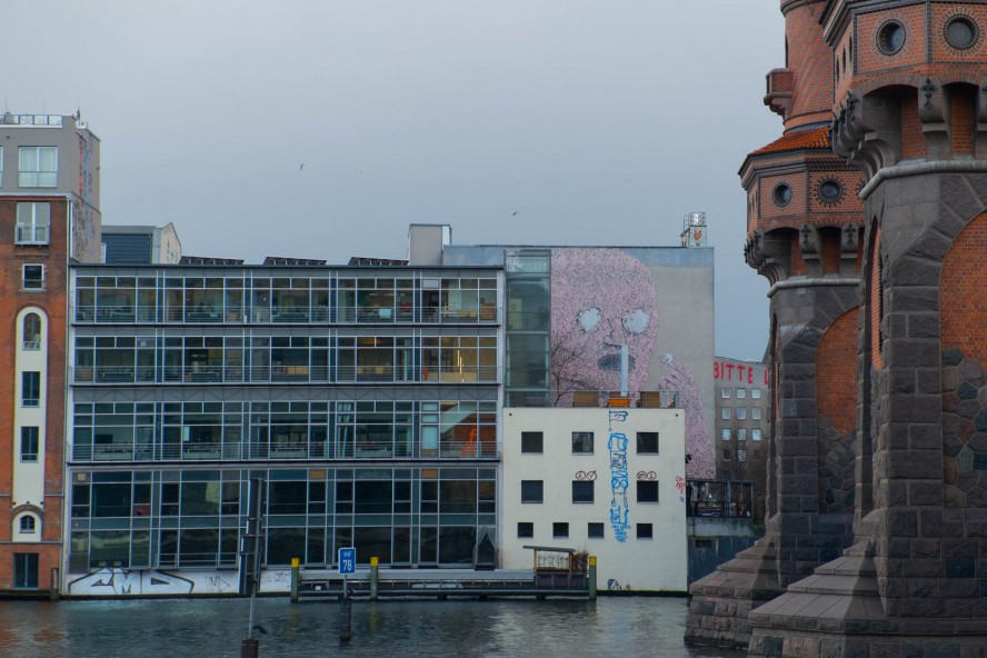 mural - blu, Falckensteinstraße