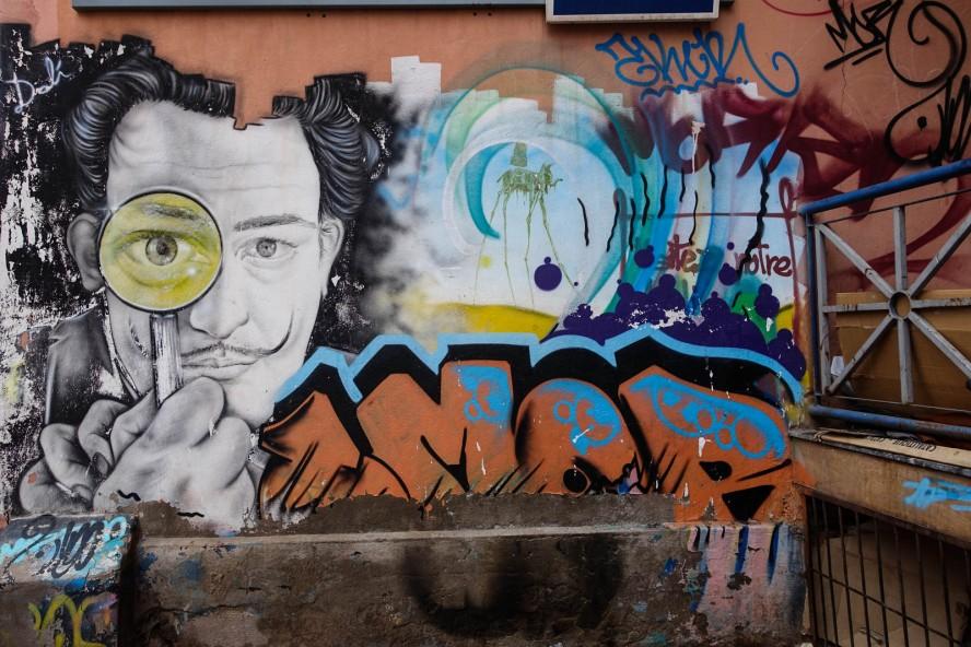 graffiti - morran ben lahcen - rue moulay ali