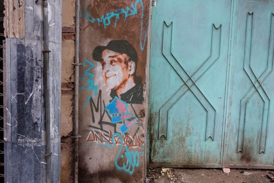 stencil - morran ben lahcen - rue moulay ali