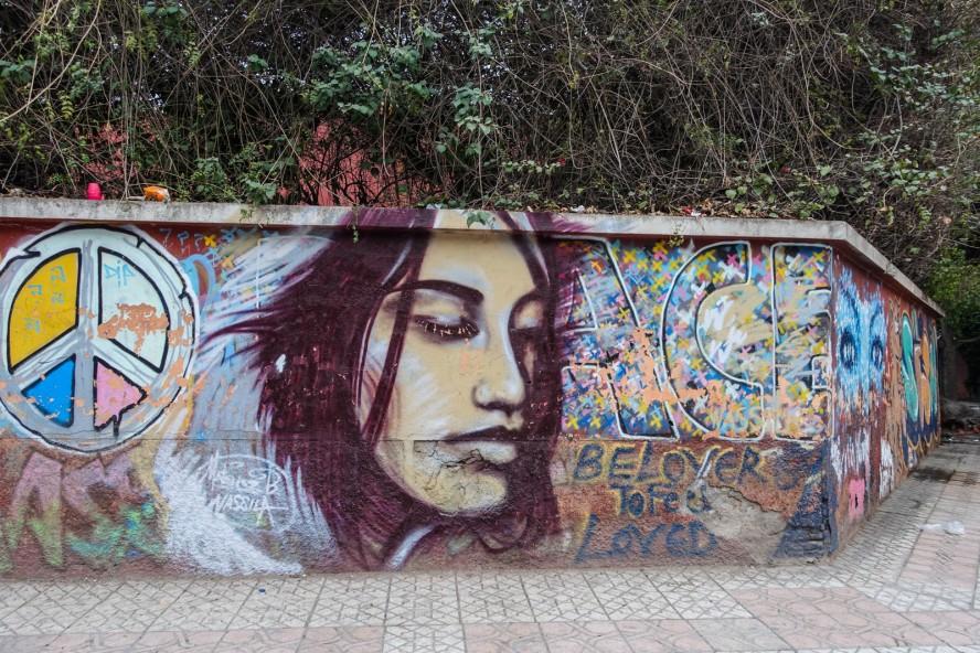 graffiti - rue oum errabia