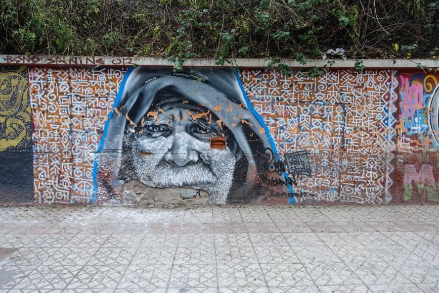 graffiti - morran ben lahcen - rue oum errabia