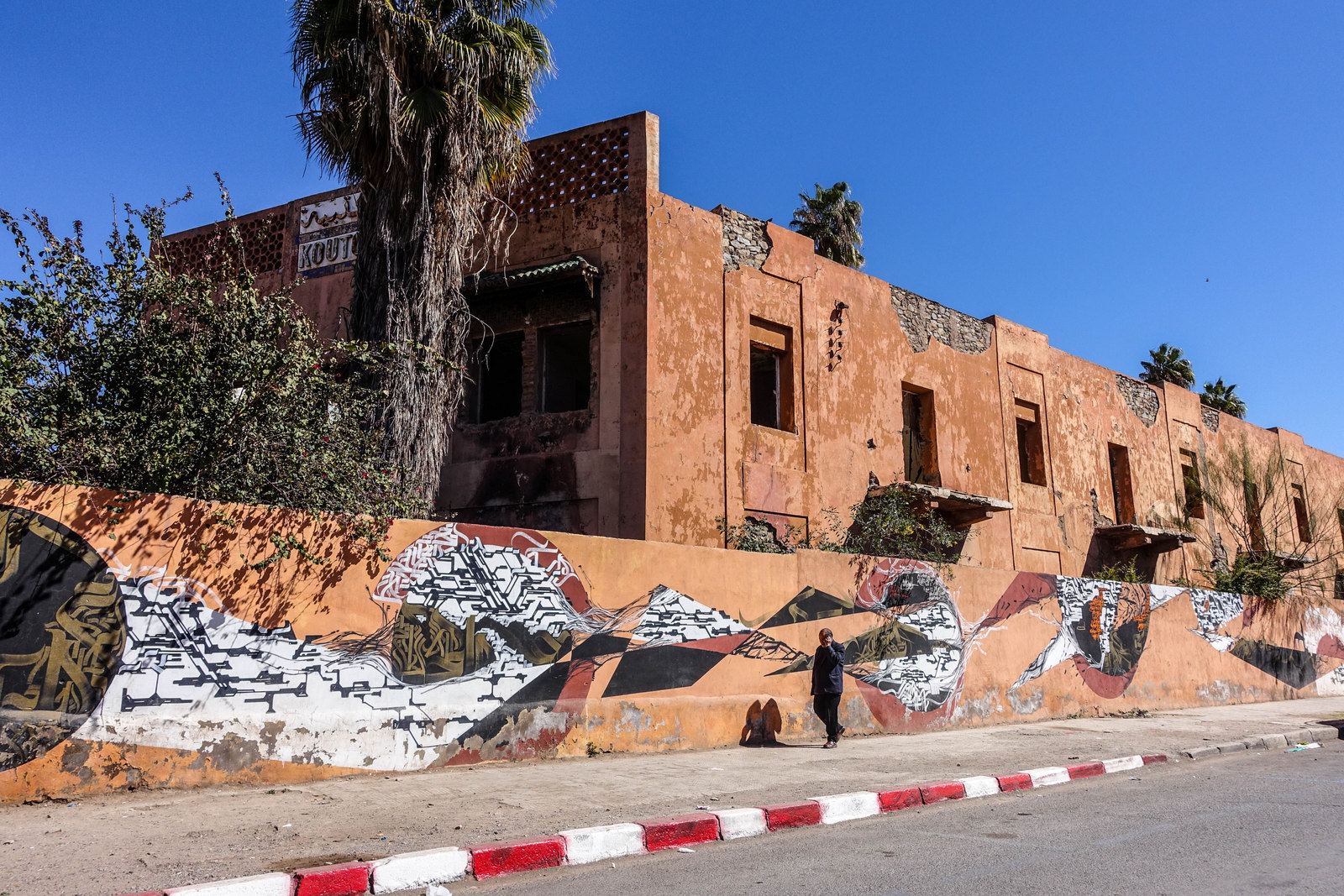 streetart in gueliz – marrakesch