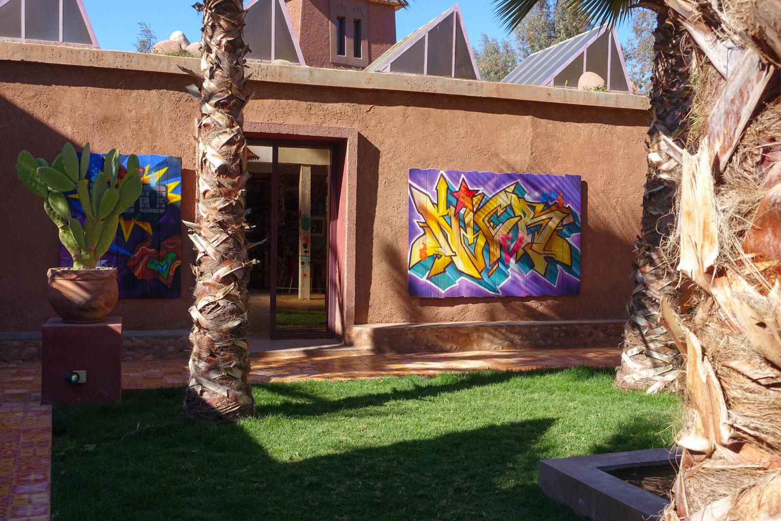 jardin rouge – ateliers, ausstellingsraum & werke