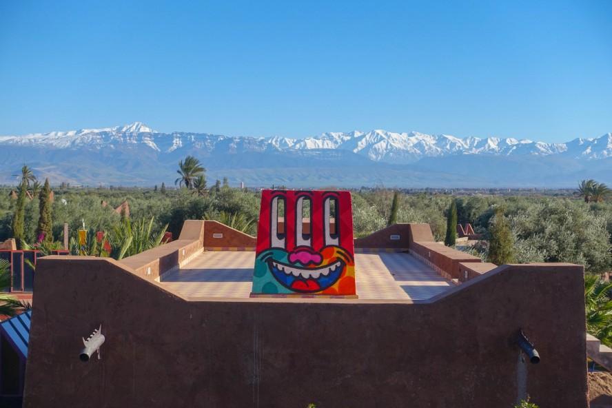 krito - jardin rouge - marrakech - streetart