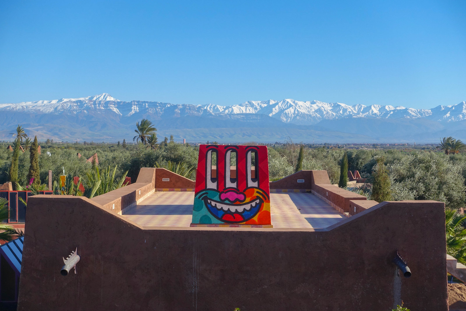 """jardin rouge, eine urban art oasis in marrakesch"" – fotoausstellung mirage, berlin"