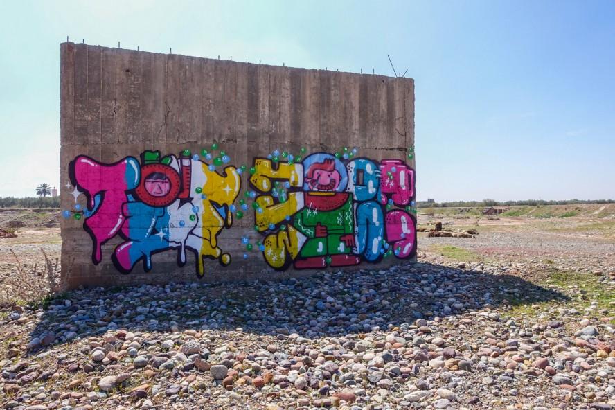 graffiti - tilt & poes