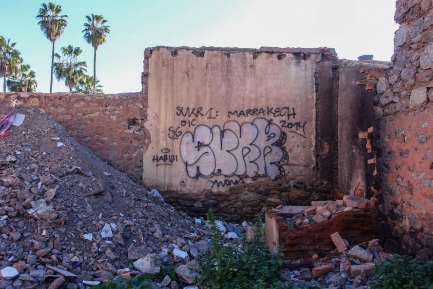 urbex graffiti - sukr