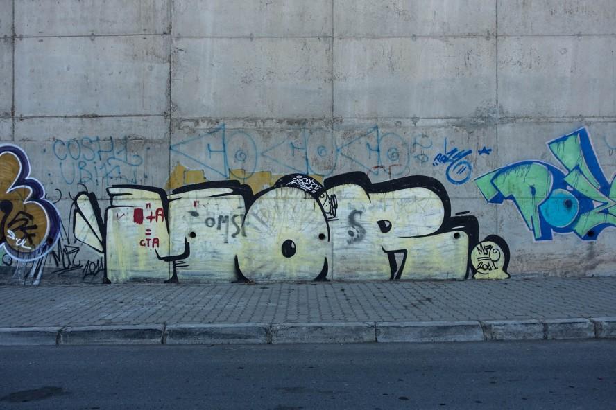graffiti morran ben lahcen