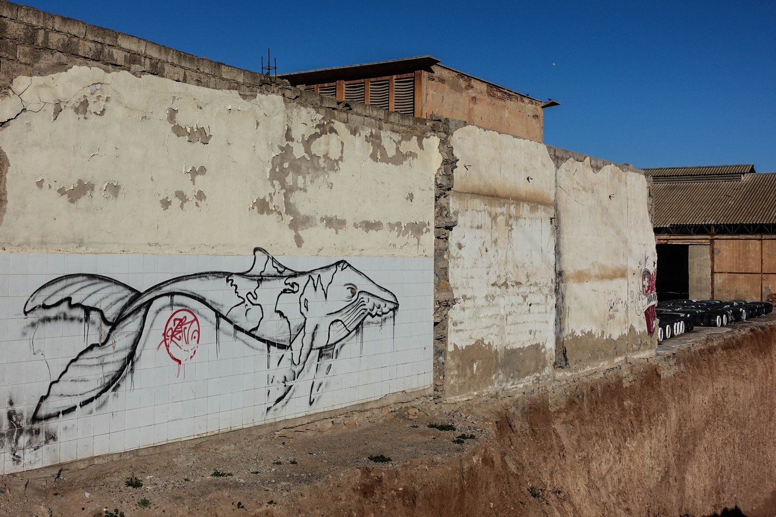 streetart near the station – marrakesh