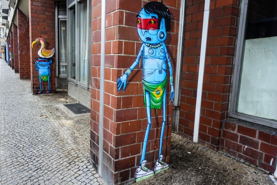 streetart | cranio | urban nation . bülowstrasse - berlin