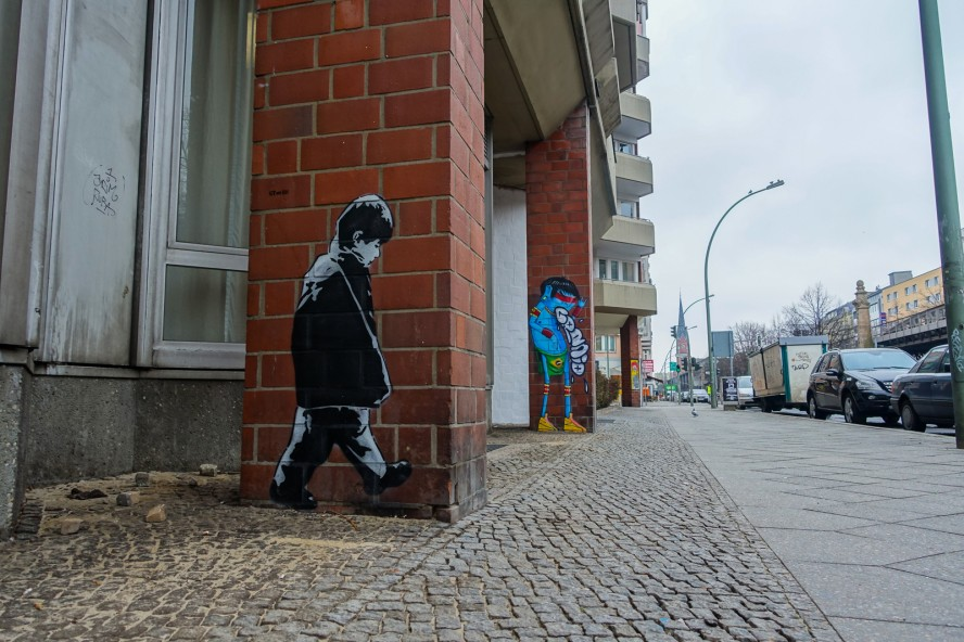 streetart | icyandsot & cranio | urban nation . bülowstrasse -