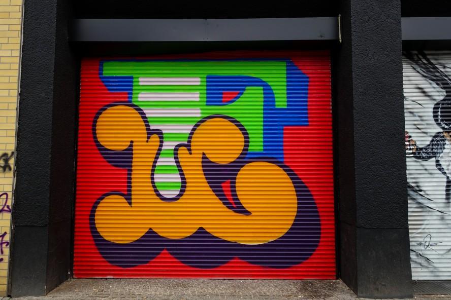 streetart | Ben Eine | urban nation . bülowstrasse - berlin