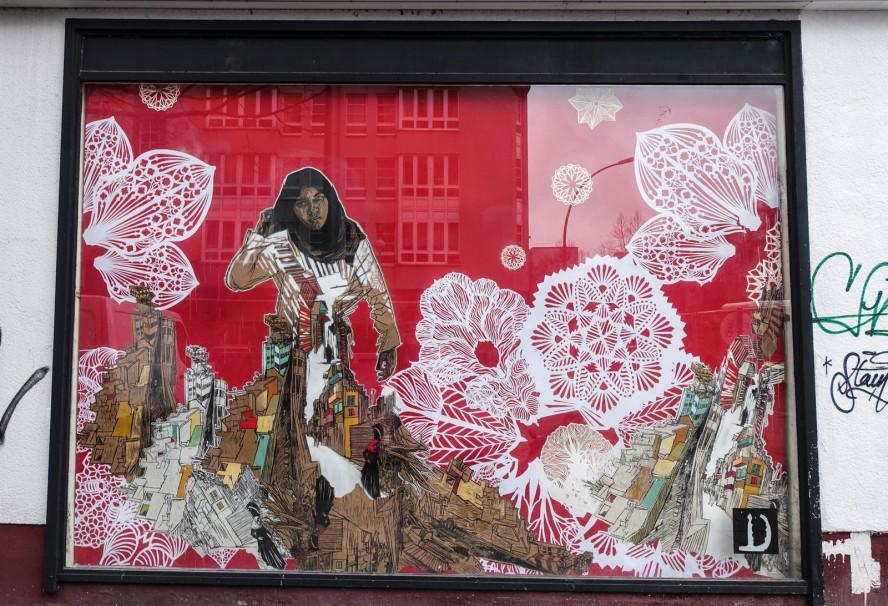 streetart | swoon | urban nation . bülowstrasse - berlin