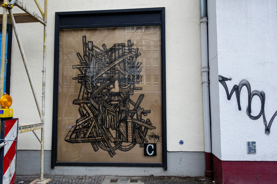 streetart | don rimx | urban nation . bülowstrasse - berlin