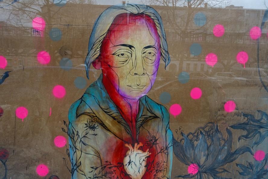 streetart | cake | urban nation . buelowstrasse - berlin