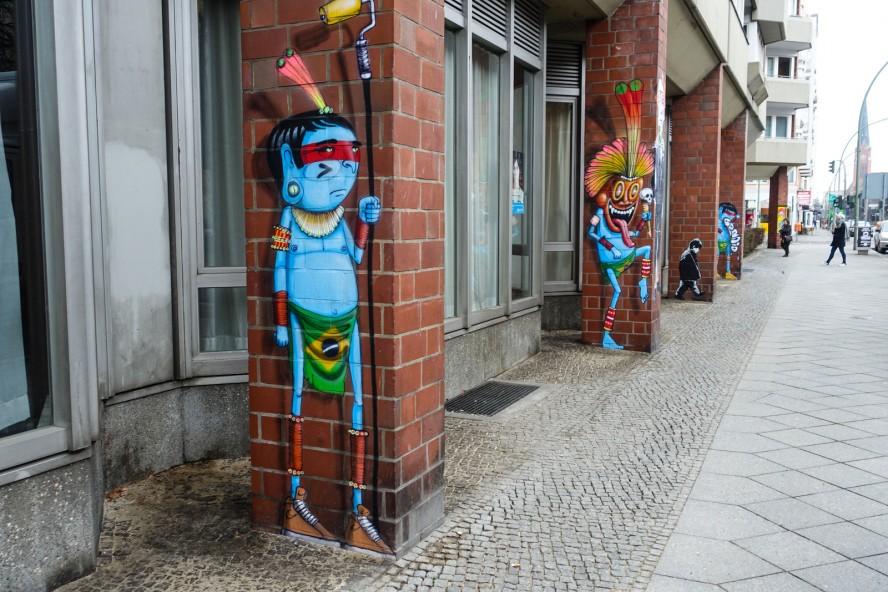 streetart | cranio | urban nation . buelowstrasse - berlin