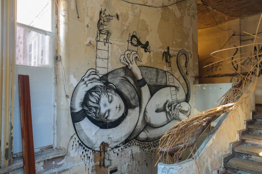 streetart - ale senso - funkhaus grünau