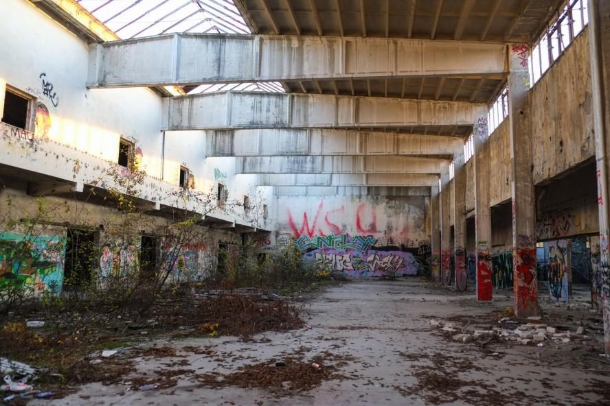 graffiti - urbex - kabelwerk oberspree - berlin köpenick