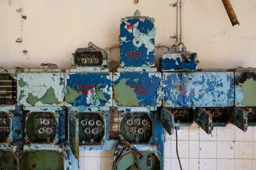 wäscherei - geisterstadt vogelsang - verlassene russische kaser