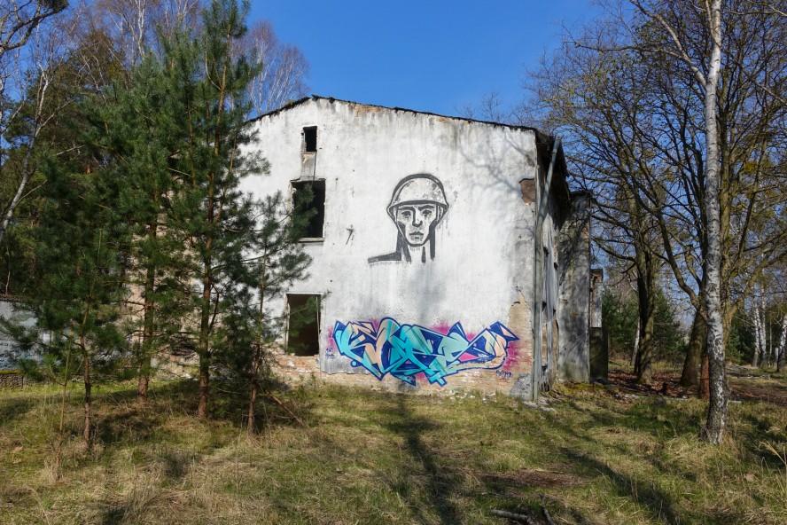 graffiti - artist unknown - geisterstadt vogelsang - verlassene russische kaserne