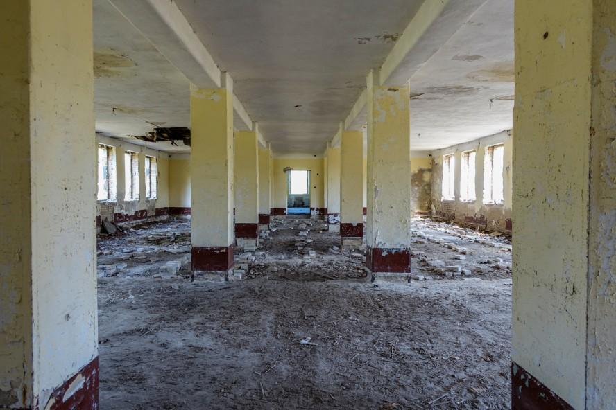geisterstadt vogelsang - verlassene russische kaserne