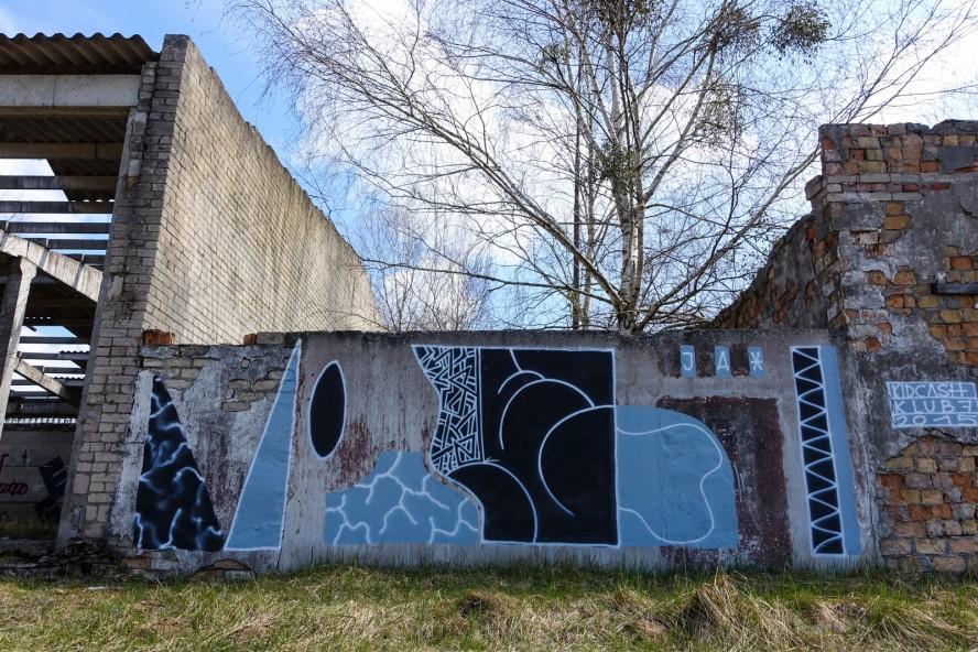 graffiti - kidcash / klub7 - geisterstadt vogelsang - verlassene