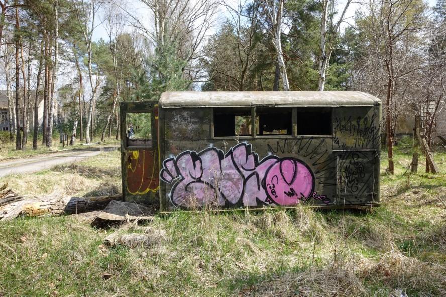 graffiti - enso - geisterstadt vogelsang - verlassene russische