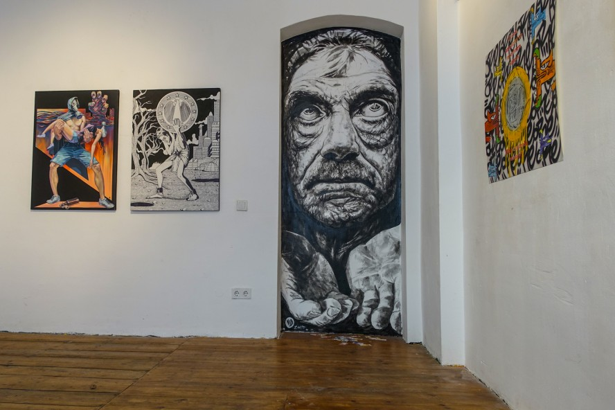 exhibition - wild drawing / scare one - rpunkt