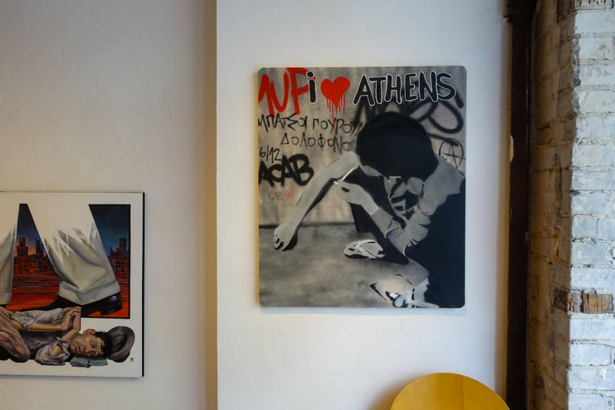 exhibition - wild drawing / scare one / oré - rpunkt