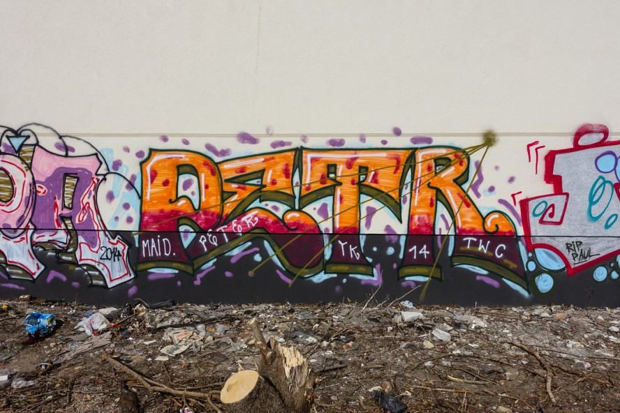 graffiti - peter - prenzlauer berg / berlin