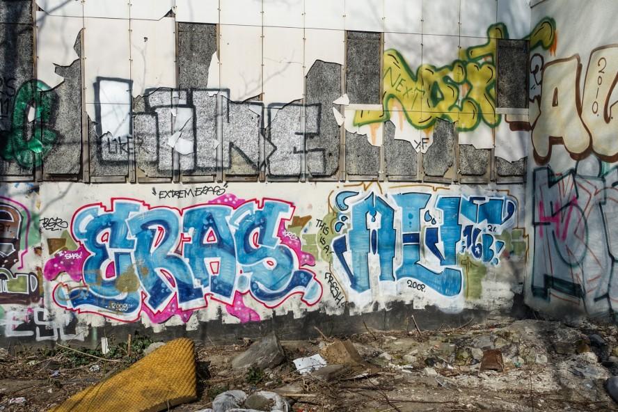 graffiti - eras / alf - prenzlauer berg / berlin