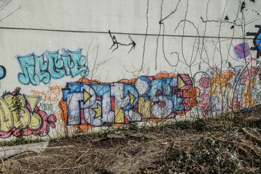 graffiti - paris - prenzlauer berg / berlin