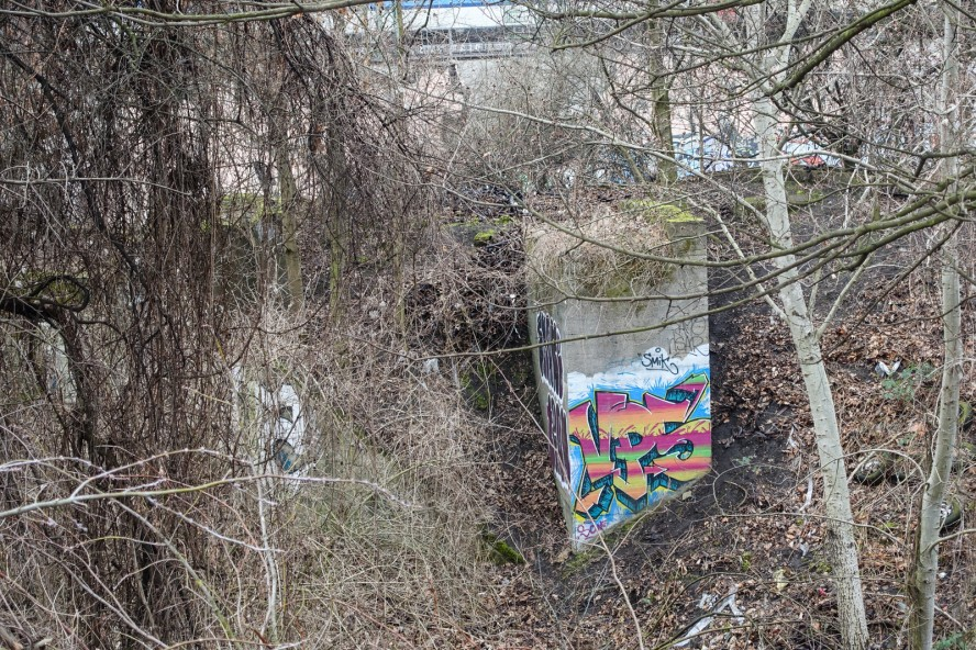 graffiti - vps - gleisdreieck / yorkstrasse . berlin