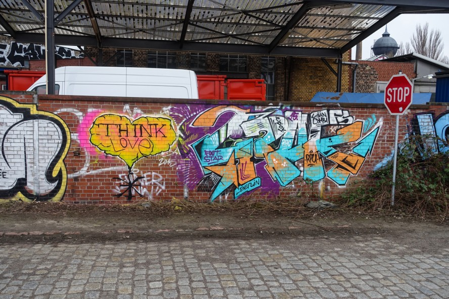 graffiti - croy - gleisdreieck / yorkstrasse . berlin
