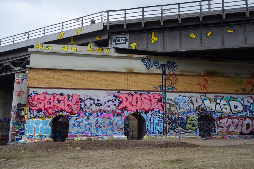 graffiti - gleisdreieck / yorkstrasse