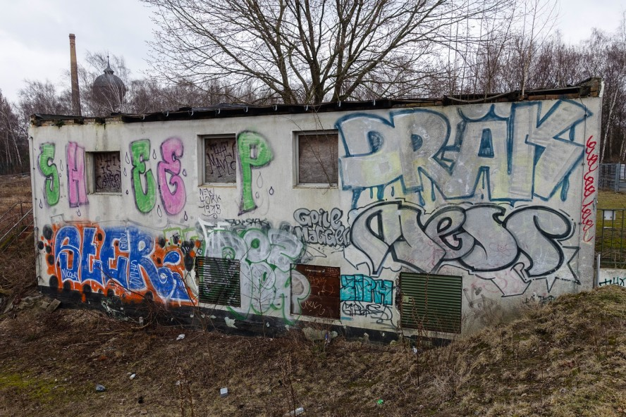 graffiti - gleisdreieck / yorkstrasse . berlin