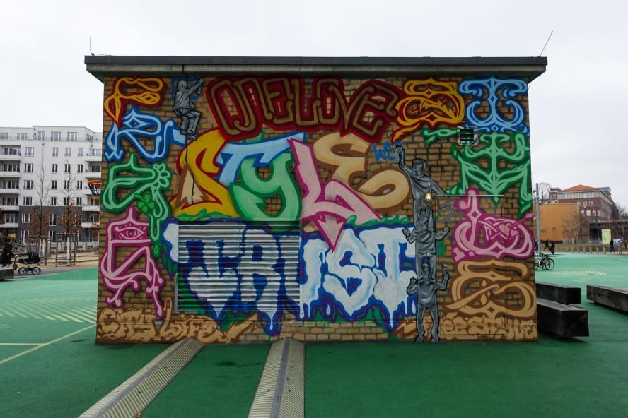 graffiti - free style /  berlin kidz? - gleisdreieck / yorkstras