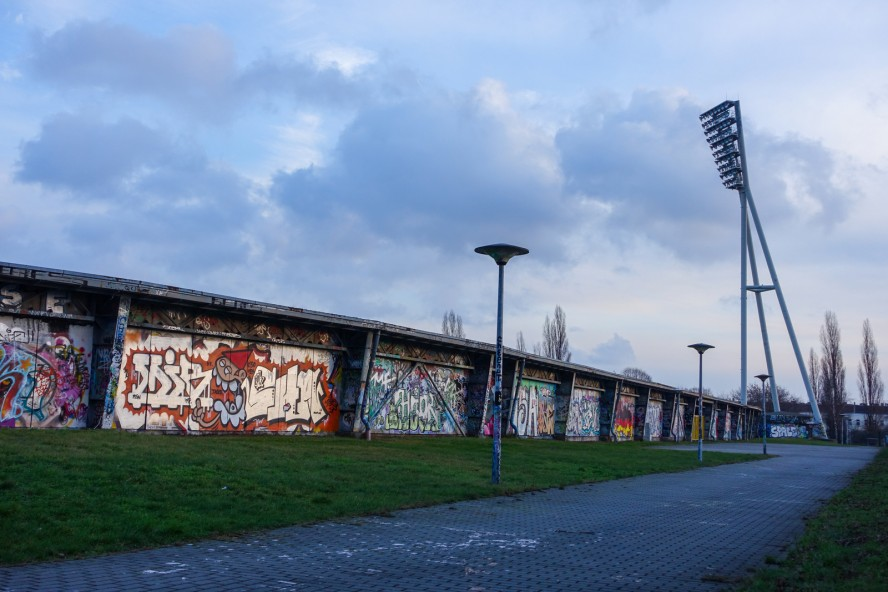 graffiti - mauerpark . berlin . januar 2015