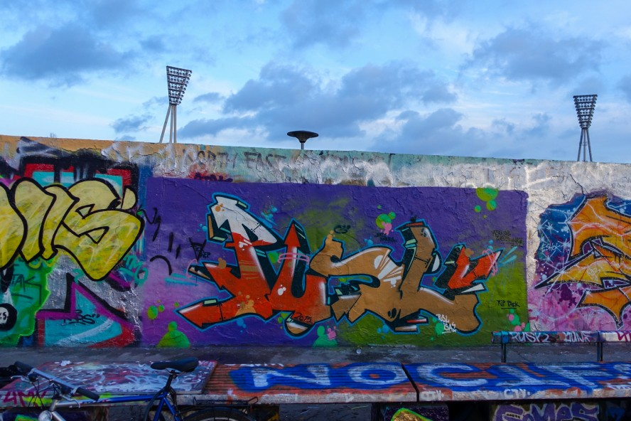 graffiti - pusl - mauerpark . berlin . januar 2015