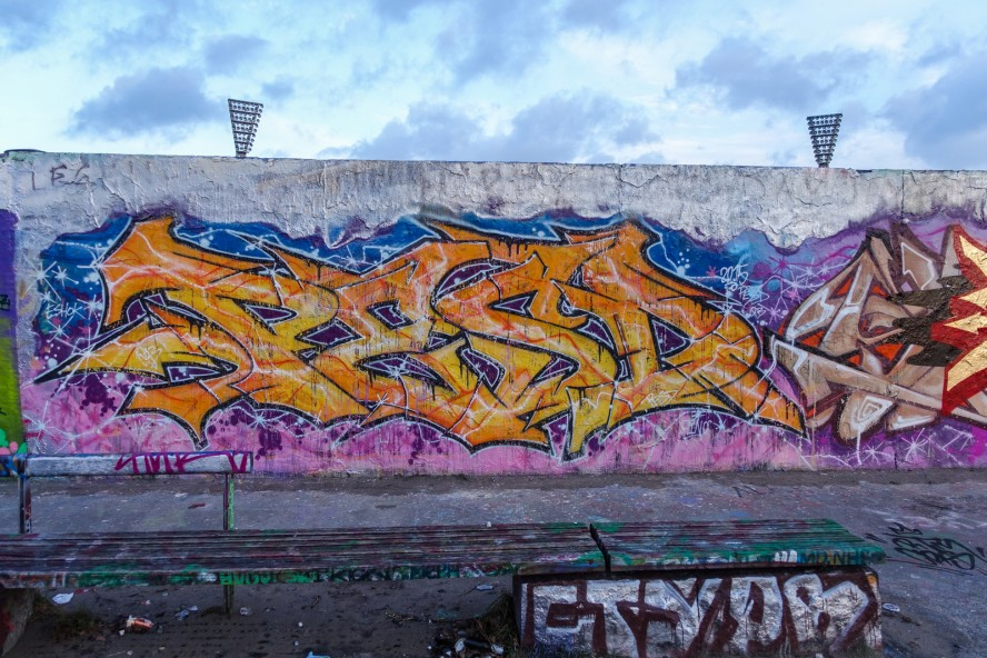graffiti - pesd - mauerpark