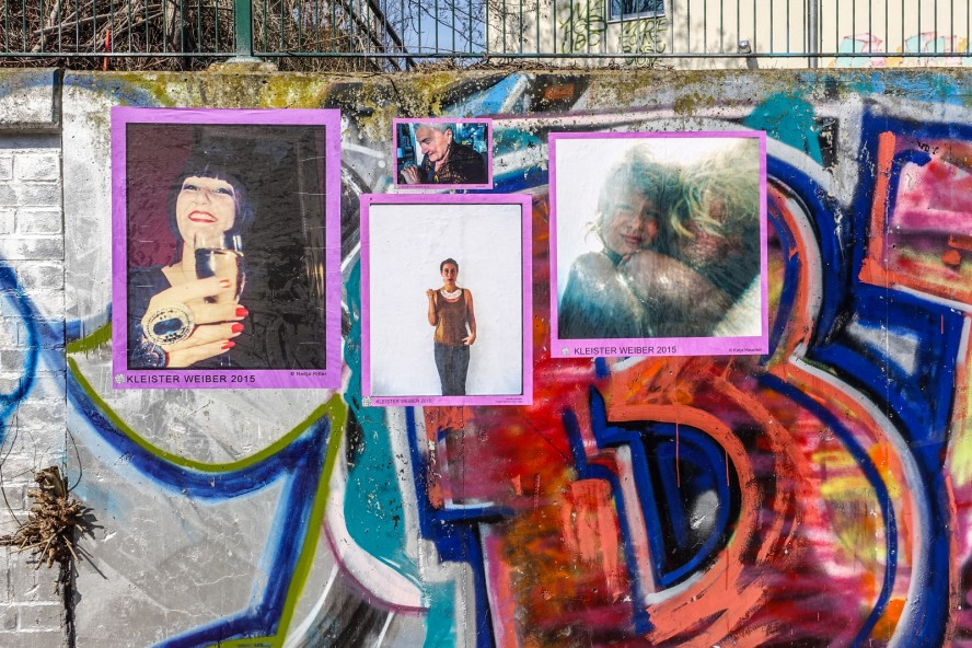 streetart - kleister weiber 2015 - wedding
