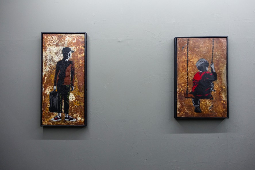 "ausstellung - alias ""FRAGMENTS"" - stattbad wedding, berlin"