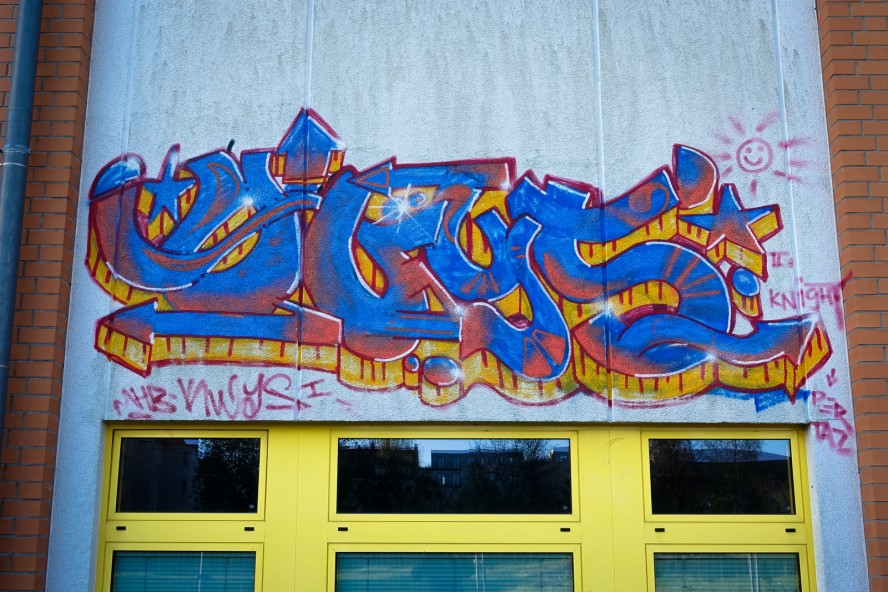 graffiti - weissensee
