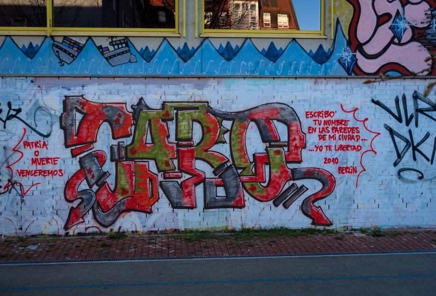 graffiti - caro - weissensee